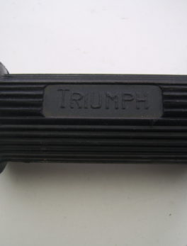 Cover-footrest-Triumph