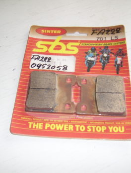 Diverse-Brake-pad-set-SBS-701LS