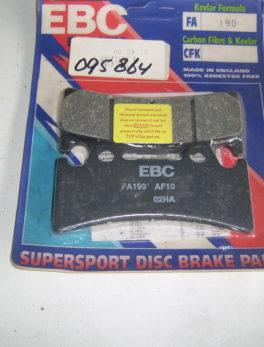 Diverse-Brake-pad-set-model-EBC-fa190
