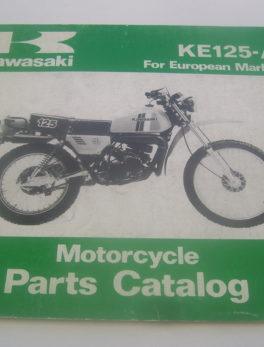 Kawasaki-Parts-List-KE125-A-1980