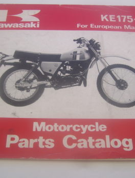 Kawasaki-Parts-List-KE175-D-1980