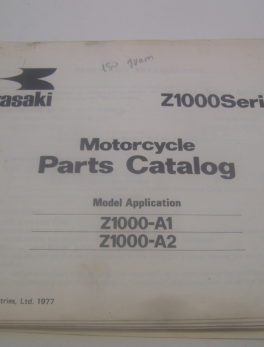 Kawasaki-Parts-List-Z1000-A1-A2-1977