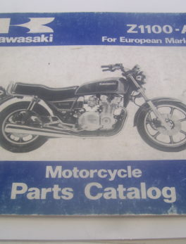 Kawasaki-Parts-List-Z1100-A-1981