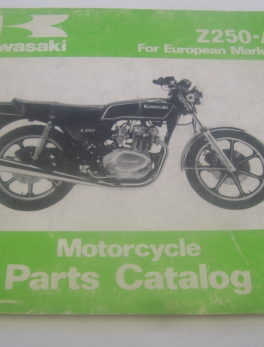 Kawasaki-Parts-List-Z250-A-1978