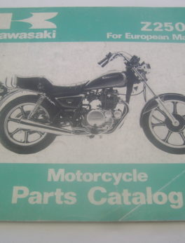 Kawasaki-Parts-List-Z250-G-1980