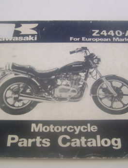Kawasaki-Parts-List-Z440A-1980