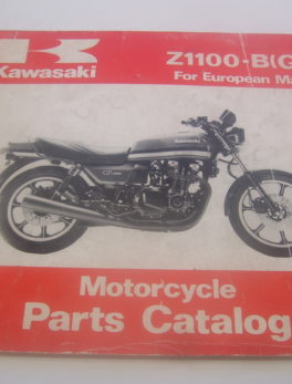 Kawasaki-Parts-List-ZL1100-BGP-1981