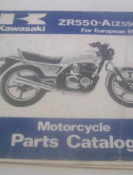 Kawasaki-Parts-List-ZR550-A-Z550-F-1982