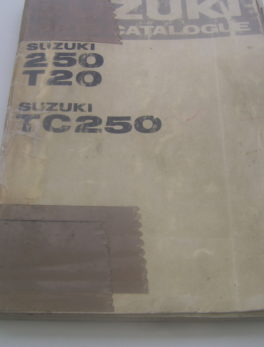 Suzuki-Parts-List-250-T20-TC250
