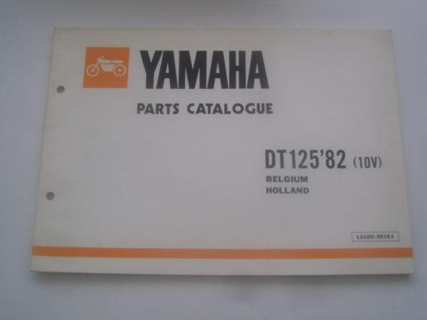 Yamaha-Parts-List-DT125-82