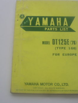 Yamaha-Parts-List-DT125E-76