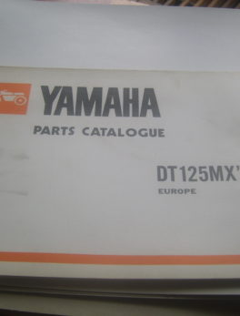 Yamaha-Parts-List-DT125MX-1981