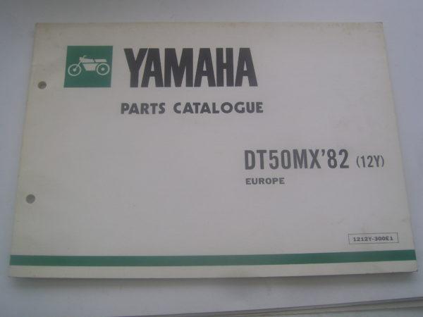 Yamaha-Parts-List-DT50MX-12Y