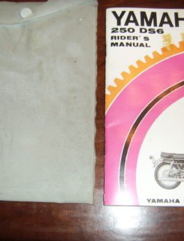 Yamaha-Rider-s-manual-250-DS6