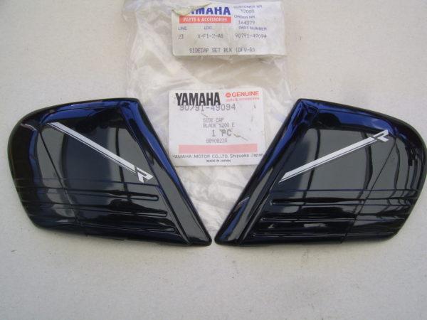 Yamaha-Side-cap-set-black-90791-49094