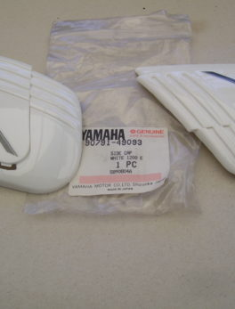 Yamaha-Side-cap-white-1200E-90791-49093